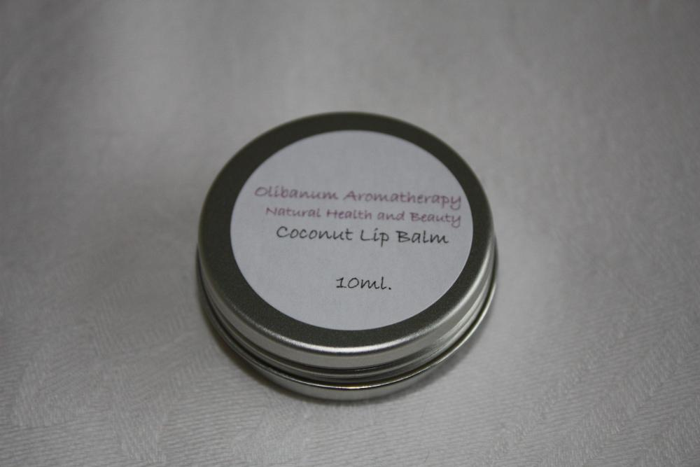 Coconut lipbalm tin 10ml