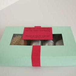 Pampered hands Gift Set, Handmade by Olibanum Aromatherapy in the UK